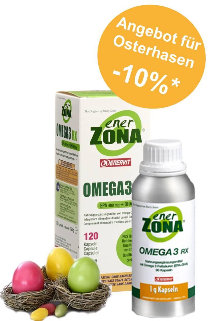 enerZONA-Omega 3 RX_Osterangebot