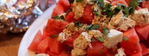 Melonensalat_Sommer